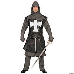 Black Knight Costume for Men