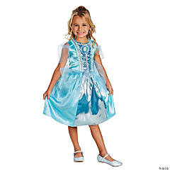Cinderella Sparkle Classic Princess Costume For Girls