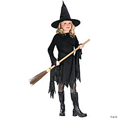 Classic Witch Costume For Girls