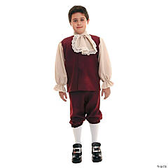 Colonial Boy Costume For Boys