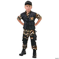 Seal Team Costume For Boys