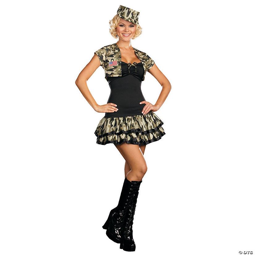 sc 1 st  Oriental Trading & Womenu0027s Soldier Girl Costume