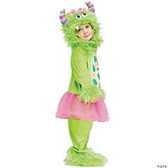 Terror In A Tutu Green Costume For Girls