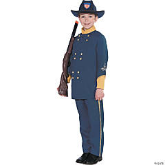 Union Officer Costume For Boys