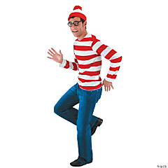 Where's Waldo Costume Kit For Men