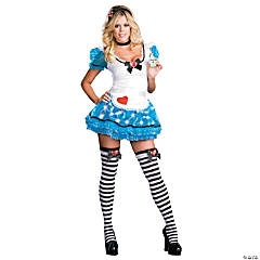 Wonderland's Delight Costume For Women