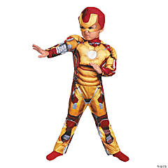 Boy's Mark 42 Iron Man Costume