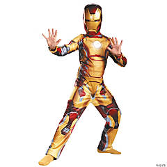 Mark 42 Classic Iron Man Costume for Boys