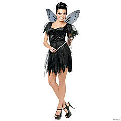Midnight Fairy Costume For Women