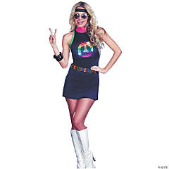 Peace Out Led Light Up Costume For Women