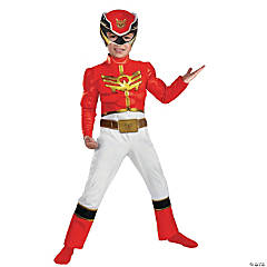 Red Ranger Megaforce Boys Toddler Costume