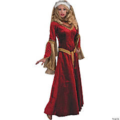 Scarlet Renaissance Costume For Women
