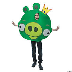 King Pig Angry Birds Costume for Kids