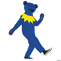 Grateful Dead Blue Dancing Bear Costume For Men