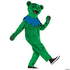 Grateful Dead Green Dancing Bear Costume For Men