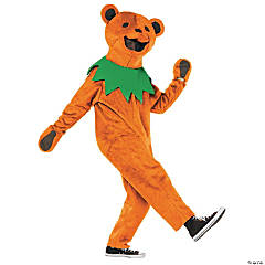 Grateful Dead Orange Dancing Bear Costume For Men