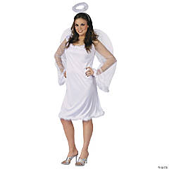 Plus Size Heaven Sent Costume For Women