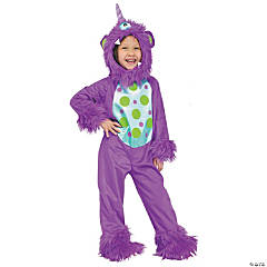 Lil Monster Toddler Purple Costume