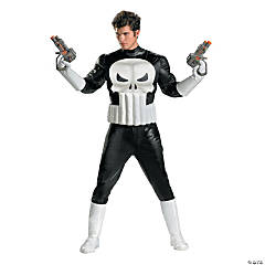 Punisher Costume For Men