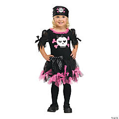 Sally Skully Toddler Costume For Girls
