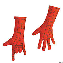 Men's Deluxe Spiderman Costume Gloves