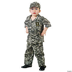 U.S. Army Camo Set Costume For Kids