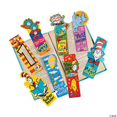 Dr. Seuss™ Incentive Bookmarks