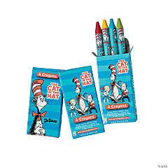 4-Color Dr. Seuss™ Crayons (72 Boxes)