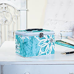 Snowflake Purse Tin Idea