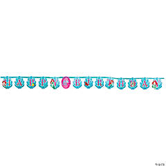 Disney's The Little Mermaid Ariel Jumbo Letter Add-An-Age Banner Kit