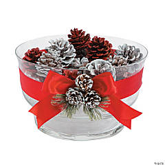 Painted Pinecone Bowl Idea