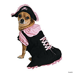Pink Pirate Dog Costume