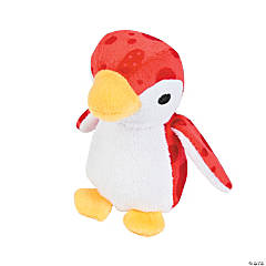 Plush Valentine Penguins