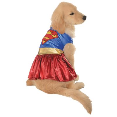 quickview · image of Supergirl Dog Costume - Extra Large with sku13638713  sc 1 st  Oriental Trading & Supergirl Dog Costume