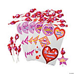 Mini Tootsie Roll Pops® Valentine Exchange