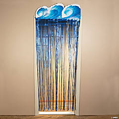 Hang Loose Foil Fringe Door Curtain