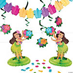 Luau Tabletop Decorating Kit