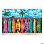 Surf's Up Surfboard Backdrop Banner