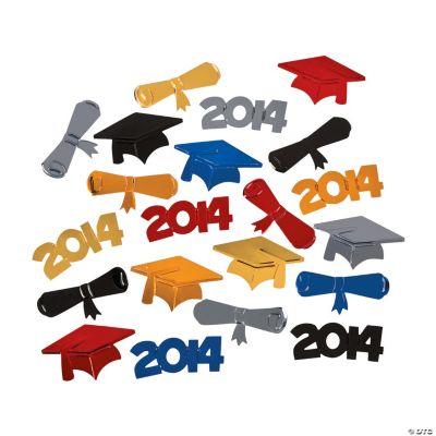 2014 Graduation Confetti