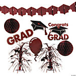 Burgundy Graduation Decorating Kit
