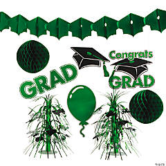 Green Graduation Decorating Kit