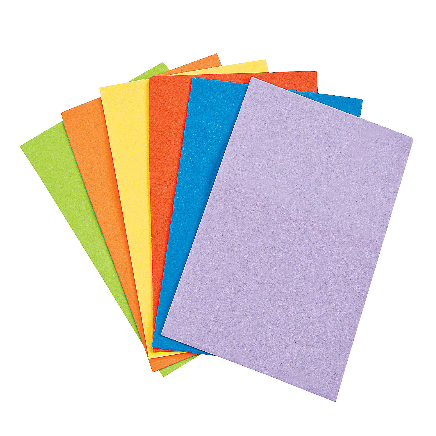 Foam small colorful sheets foam shapes craft supplies for Red craft foam sheets