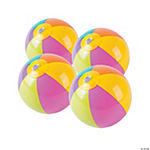 Vinyl Bright Mini Beach Balls