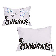 Autograph Graduation Pillow
