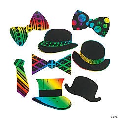 Magic Color Scratch Hats & Ties