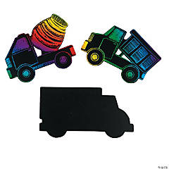 Magic Color Scratch Trucks