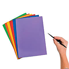 Small Magic Color Scratch Sheets