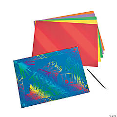 Magic Color Scratch Large Colored Sheets