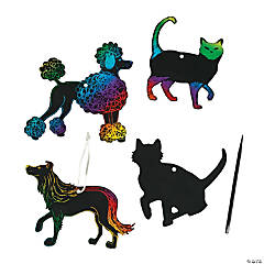 Magic Color Scratch Cats & Dogs