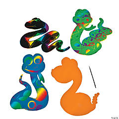 Magic Color Scratch Snakes